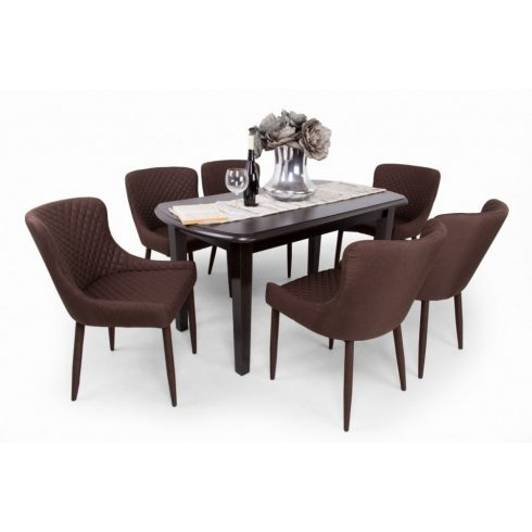 Brill étkező Dante asztallal (6 személyes)