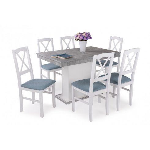 Niló étkező Flóra asztallal (6 személyes)