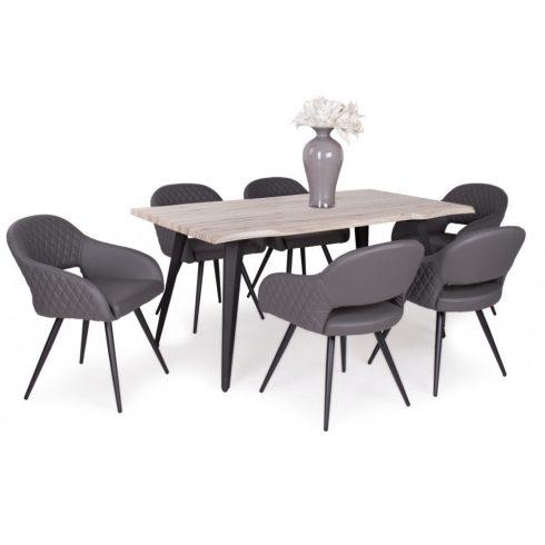Cristal étkező Tina asztallal (6 személyes)
