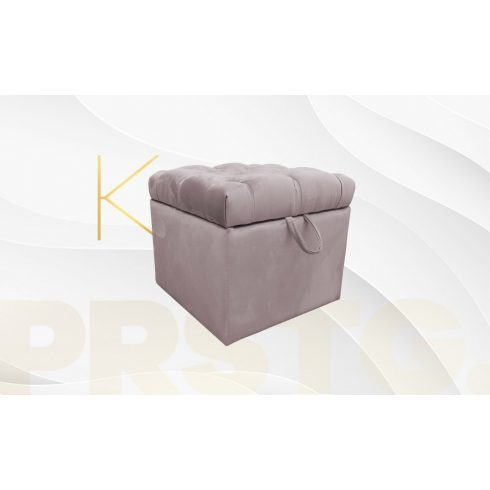 Kufer Chesterfield puff